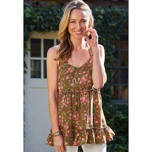 NWT Matilda Jane On A Whim Floral Top Large